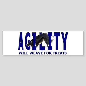 Agility: Will Weave Bumper Sticker
