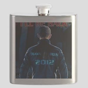 Obaminator 2012 Flask