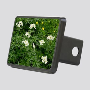Narcissus-flowered Anemone Rectangular Hitch Cover