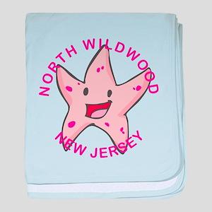 New Jersey - North Wildwood baby blanket