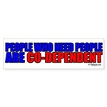 Co-Dependent Bumper Sticker