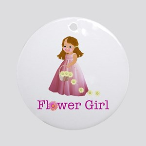 Flower Girl Ornament (Round)