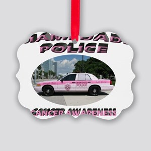 Miami-Dade Police Picture Ornament