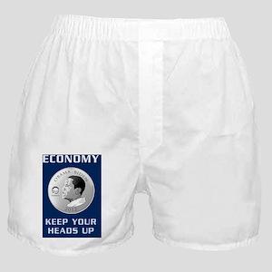 Obama 2012 Economy T-Shirt Boxer Shorts