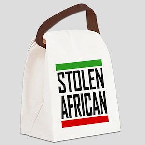 Stolen African  Canvas Lunch Bag