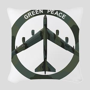 B-52 Stratofortress - BUFF Woven Throw Pillow