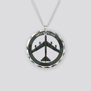 B-52 Stratofortress - BUFF Necklace Circle Charm
