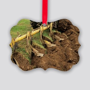 Ploughing Picture Ornament