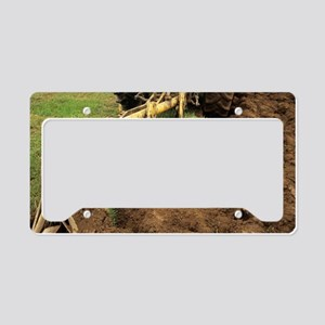 Ploughing License Plate Holder