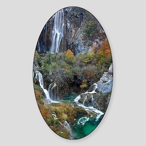 Plitvice National Park Sticker (Oval)