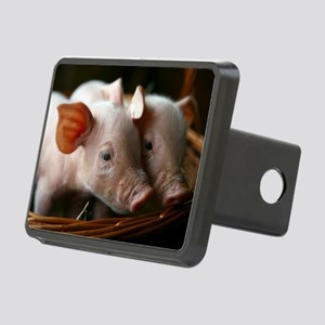 Piglets Rectangular Hitch Cover