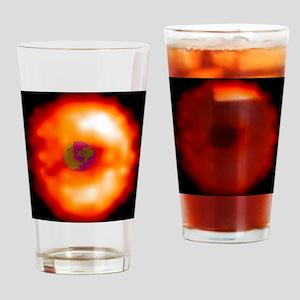 Plasma in Earth's magnetic field, U Drinking Glass