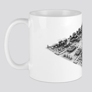 Circuit board, artwork Mug