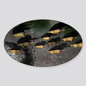 Phoberomys pattersoni, prehistoric  Sticker (Oval)