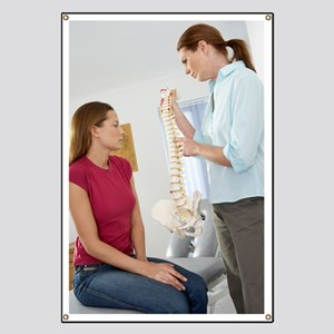 Chiropractor and patient Banner