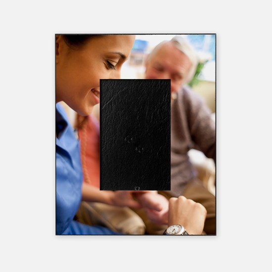 Checking pulse Picture Frame