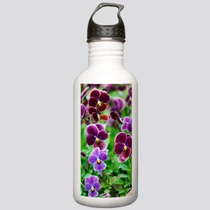 Pansy (Viola x wittroc Stainless Water Bottle 1.0L