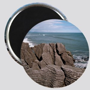 Pancake Rocks, South Island, New Zealand Magnet