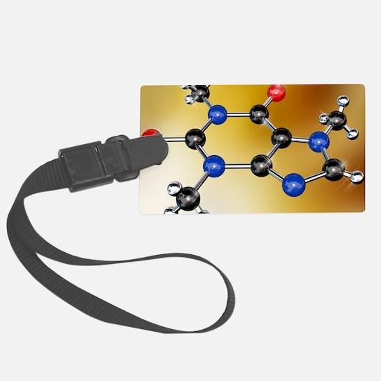 Caffeine molecule Luggage Tag