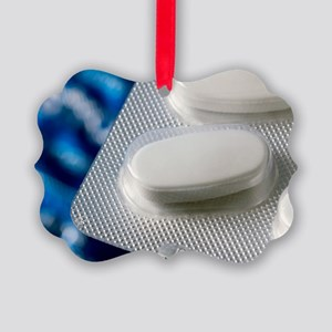 Calcium tablets in a blister pack Picture Ornament