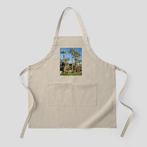 Palm tree plantation Apron