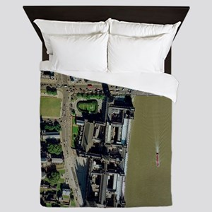 Palace of Westminster, aerial Queen Duvet