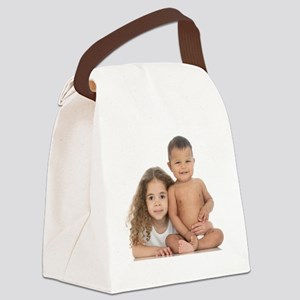 Brother and sister Canvas Lunch Bag