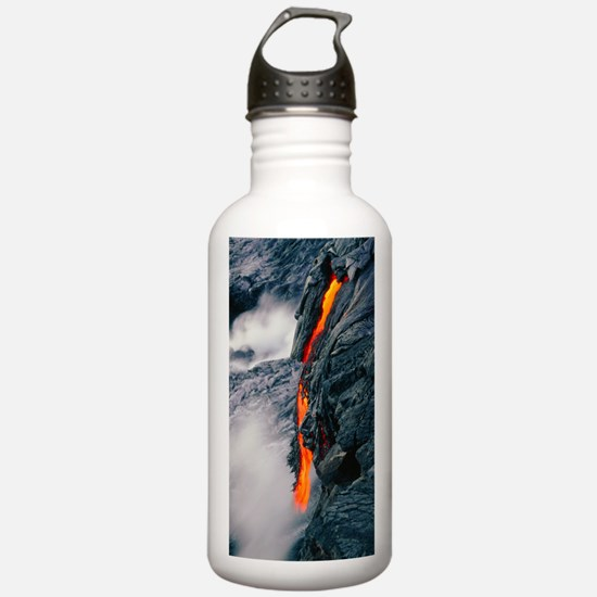 Pahoehoe lava flow fro Water Bottle