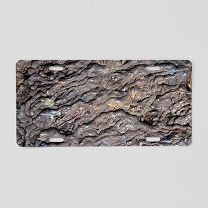Pahoehoe lava Aluminum License Plate