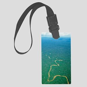 Oriente tropical forest, Ecuador Large Luggage Tag