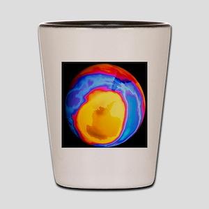 Ozone hole 2000 Shot Glass