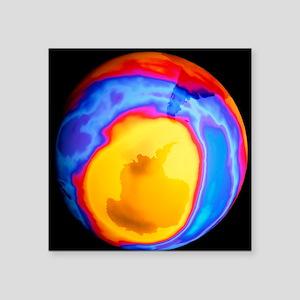 """Ozone hole 2000 Square Sticker 3"""" x 3"""""""