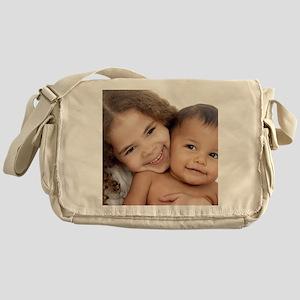 Brother and sister Messenger Bag