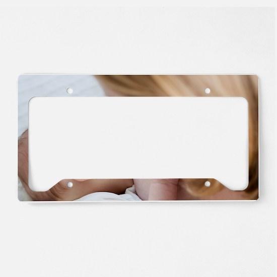 Breastfeeding License Plate Holder