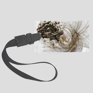 Brain research, conceptual artwo Large Luggage Tag