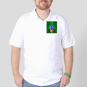 Bowel, artwork Golf Shirt