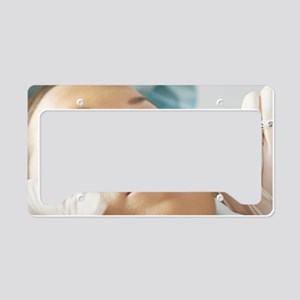 Botox treatment License Plate Holder