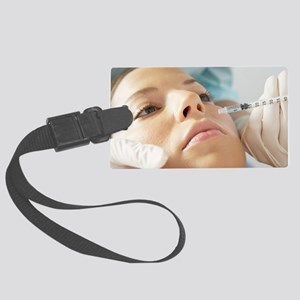 Botox treatment Large Luggage Tag