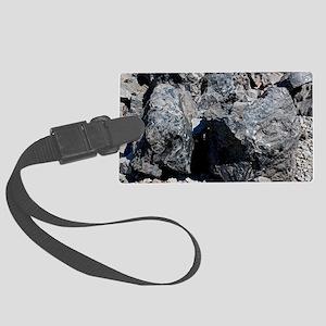 Obsidian Large Luggage Tag