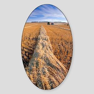 Oat harvest Sticker (Oval)