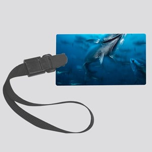 Northern bluefin tuna Large Luggage Tag