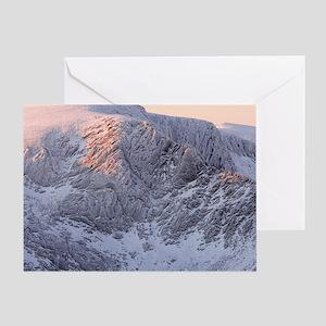 Northern Corries at dawn Greeting Card