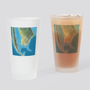 North America, Mid Cretaceous perio Drinking Glass