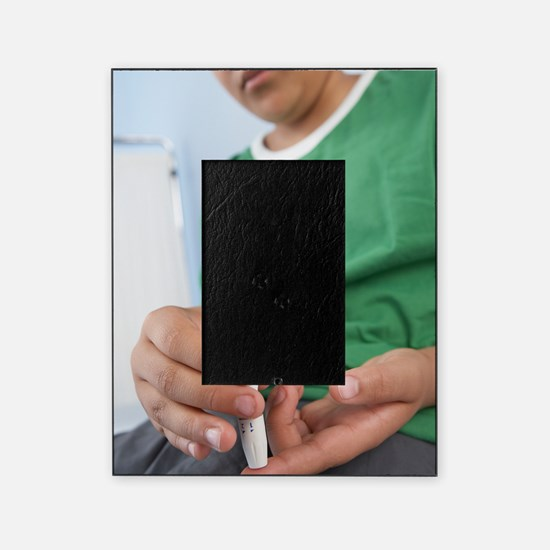 Blood glucose test Picture Frame