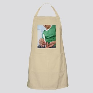 Blood glucose test Apron