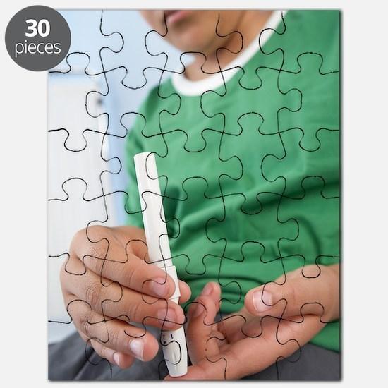 Blood glucose test Puzzle