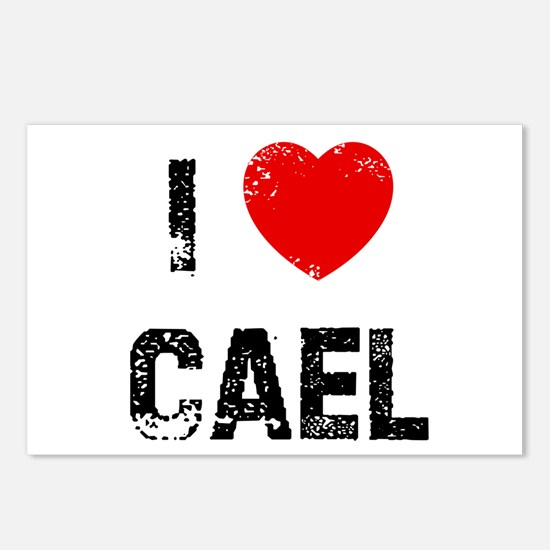 I * Cael Postcards (Package of 8)