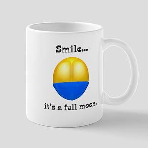 Full Moon Smile Butt Crack Mug