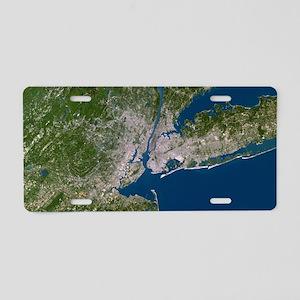 New York City Aluminum License Plate