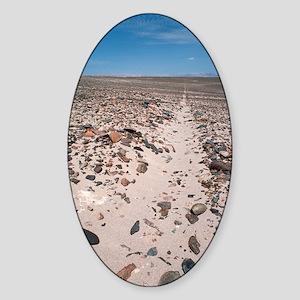 Nazca line Sticker (Oval)